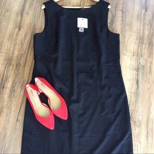 NWT Black Liz Claiborne Career Dress Sz 18 Tall